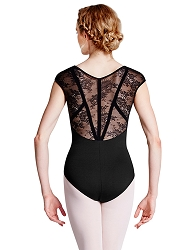 Hava Cap Sleeve Leotard by Bloch