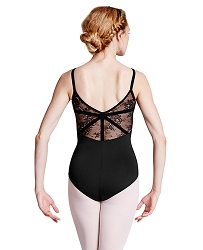 Eyal Lace Back Camisole Leotard by Bloch