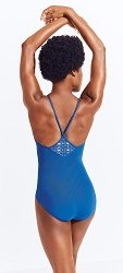 Diamond Strappy V-Back Camisole Leotard by Capezio