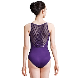 Jozette for Mirella Weave Back Camisole Leotard