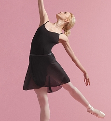 Georgette Wrap Skirt by Capezio