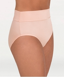 Shiny Hi-Waist / Roll Down Brief by Body Wrappers