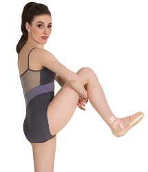 Camsiole Mesh Back Insert Leotard by Premiere