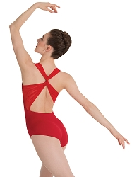 Sweetheart Mesh Accent Leotard by Premiere