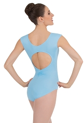 Cap Sleeve Keyhole Back Leotard by Premiere