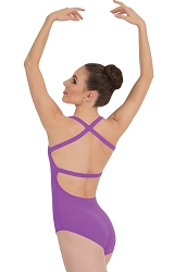 Cross Back Tank Leotard by Premiere