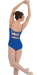 Cross Back Camisole Leotard by Premiere