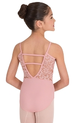 Tween Camisole Romantic Lace Leotard by Premiere