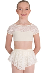 Tween Romantic Lace Skirt by Premiere