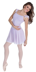 Camisole Flutter Sleeve Leotard w/ Contrast Skirt by Premiere