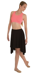 Hi-Low Skirt by Body Wrappers