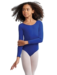Childrens Team Basic Long Sleeve Leotard by Capezio