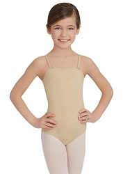 Childrens Team Basic Camisole Leotard by Capezio