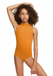 Childrens Polo Neck Leotard by Capezio