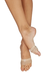 Rhinestone FootUndeez by Capezio