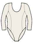 Long Sleeve Princess Leotard