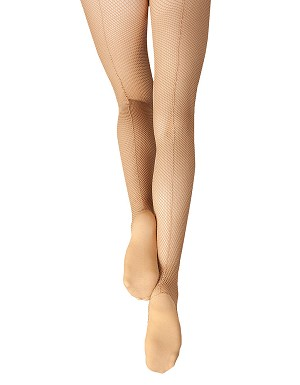 Professional Fishnet Tight with Seams by Capezio