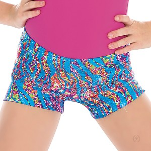 Girls Under The Sea Shorts by Eurotard
