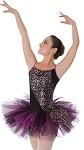 *NEW* Luminous Sequins Camsiole Black Tutu by Body Wrappers