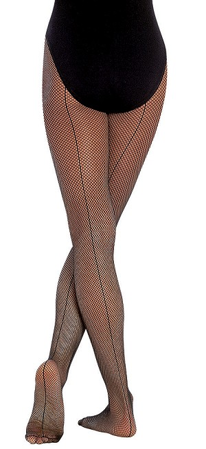 b06c1491c0259 Childrens Seamed Fishnet by Body Wrappers
