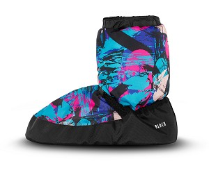 Printed Warm Up Bootie By Bloch