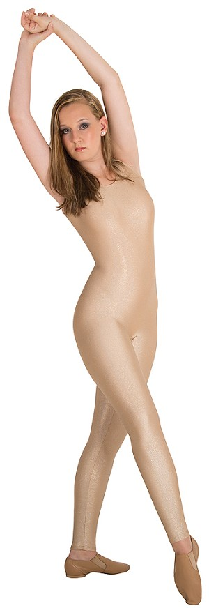 Metallic Gold Tank Unitard by Body Wrappers