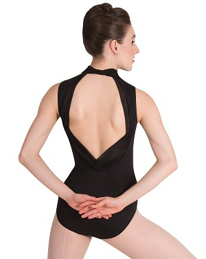 Power-Mesh Accent Leotard by Premiere