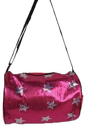 Sequin Dance Duffel Bag