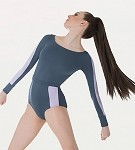 *NEW* Long Sleeve Open Back Leotard by Premiere