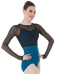 *NEW* Dotted Mesh Long Sleeve Shrug by Premiere