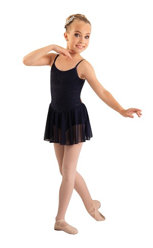 Children's Lace Bodice Camisole Dance Dress by Body Wrappers