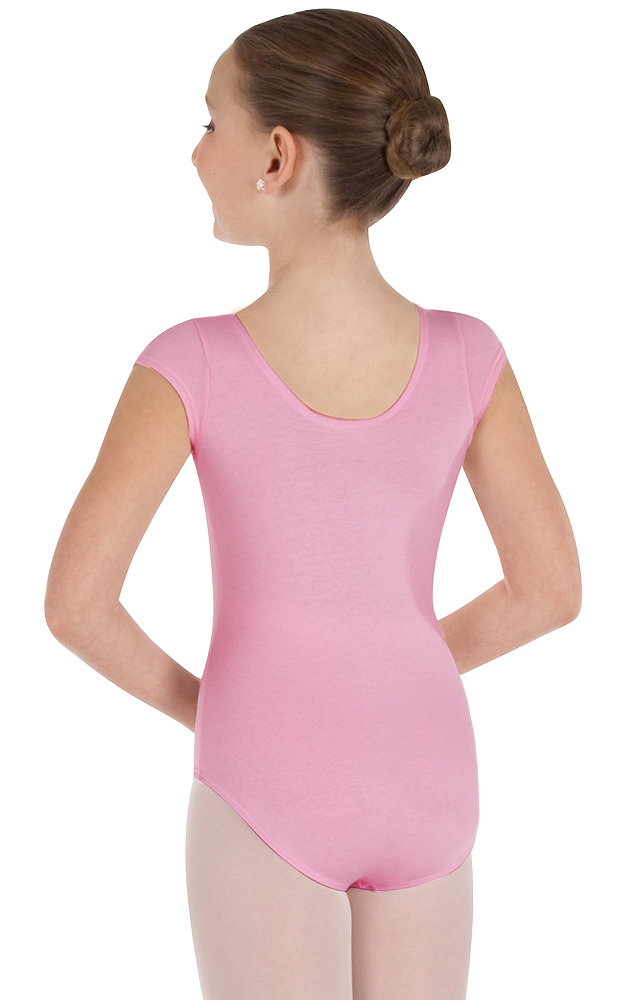 Childrens Short Sleeve Ballet Cut Leotard by Body Wrappers