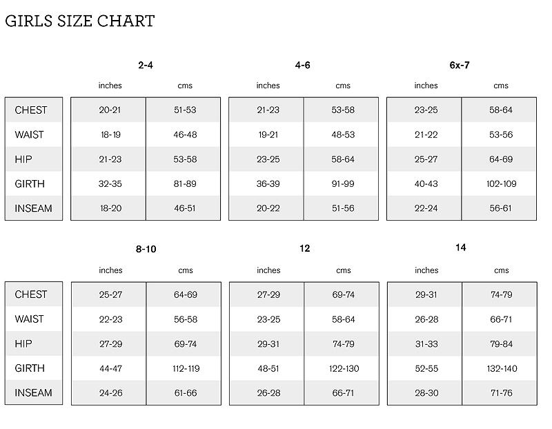 Bloch Ballet Shoe Size Chart.Bloch Girls Size Chart