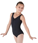 Childrens Pinch Front and Back Tank by Bloch