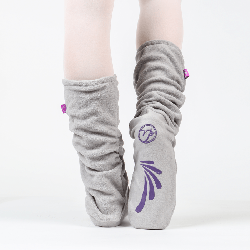 Fleece Warmup Booties by Russian Pointe
