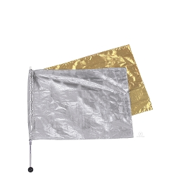 Solid Metallic Flag by Eurotard