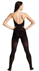 Ultra Soft Body Tight with Clear Straps by Capezio