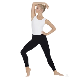 Unisex Seamless Microfiber Ankle Leggings by Eurotard