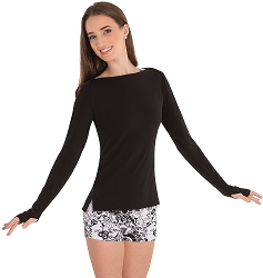 Long Sleeve Pullover by Body Wrappers