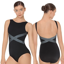 Angled Slate Leotard by Eurotard