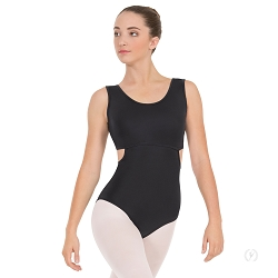 Women's Striped Mesh Tank Leotard by Eurotard