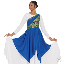 Joyful Praise Asymmetrical Tunic by Eurotard