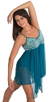 Sequin Bodice Dance Dress by Body Wrappers