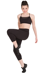 Compression Fitness 3/4 Legging by Body Wrappers