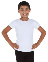 Boys Fitted Short Sleeve Tee by Body Wrappers