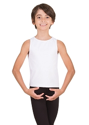 Boys Hi Neck Tank Pullover by Body Wrappers