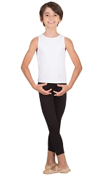 Boys Crop Dance Pant by Body Wrappers