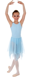 Childrens Uneven Hem Skirt by Body Wrappers