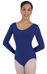 Childrens Long Sleeve Ballet Cut Leotard by Body Wrappers