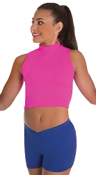 Mock Neck Pullover by Body Wrappers